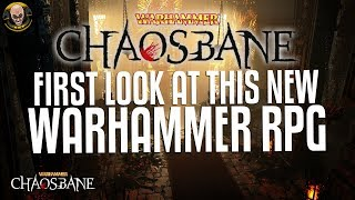 Warhammer: Chaosbane - New ARPG! First look at gameplay!