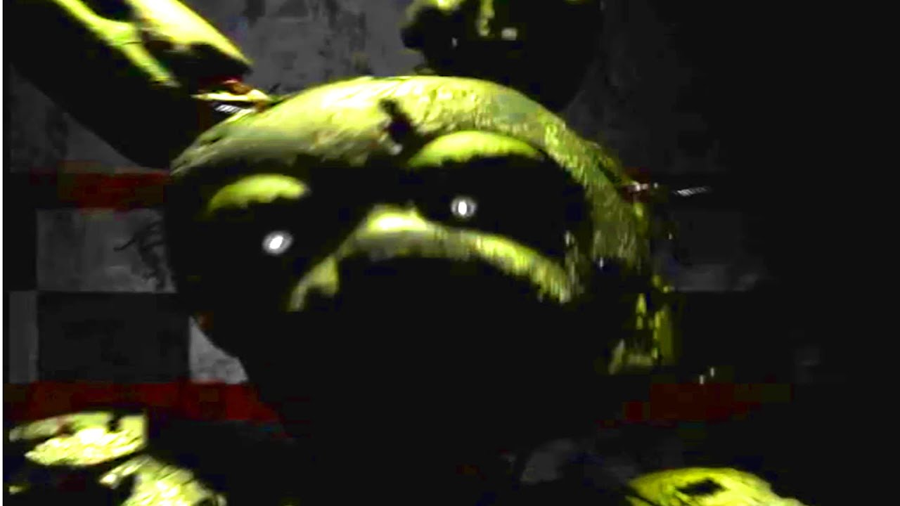 Springtrap jumpscare five nights at freddy s 3 youtube