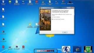 """""""Tutorial"""" Descargar autentico juego de caza """"Deer Hunter Tournament"""" en Espanol En"""