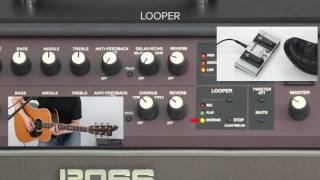 Acoustic Singer Quick Start chapter 7: Using Looper