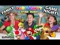 FAMILY GAME NIGHT!!! Mario Party Star Rush!