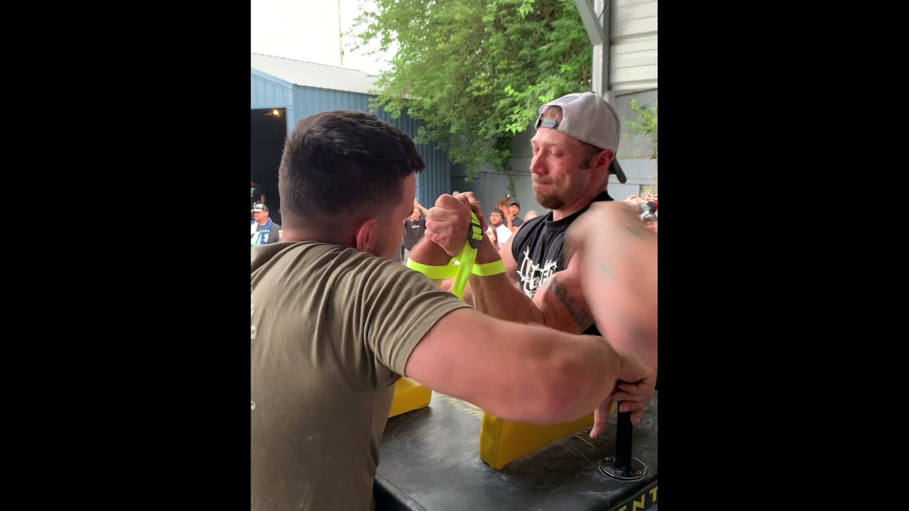 My armwrestling matches from Dave Patton event. [ Artem Taranenko in WV ]