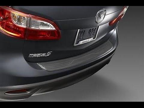 2012 Mazda 5 Rear Bumper Guard Installation Youtube