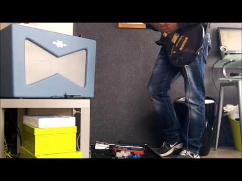U2 Elevation Intro with Fender Vaporizer Wah and Mini Fuzz Face