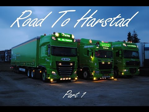 Road To Harstad - Part 1 - Norway Trucking
