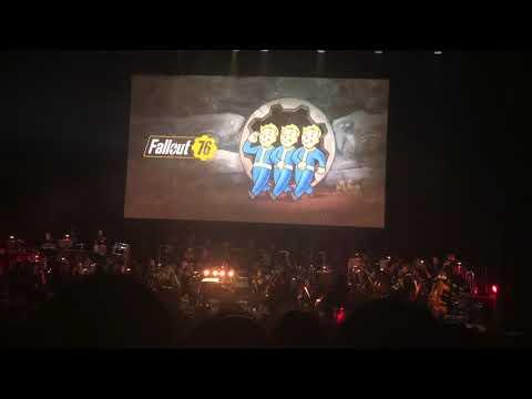Fallout 76 Main Theme - Bethesda Game Studios  In Concert