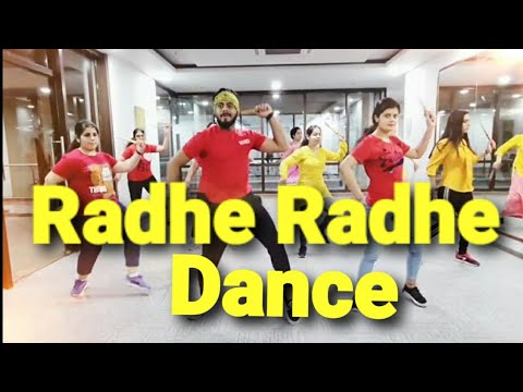 RADHE RADHE | Dandiya Dance | AMIT  Dance Fitness Workout Choreography | Dream Girl