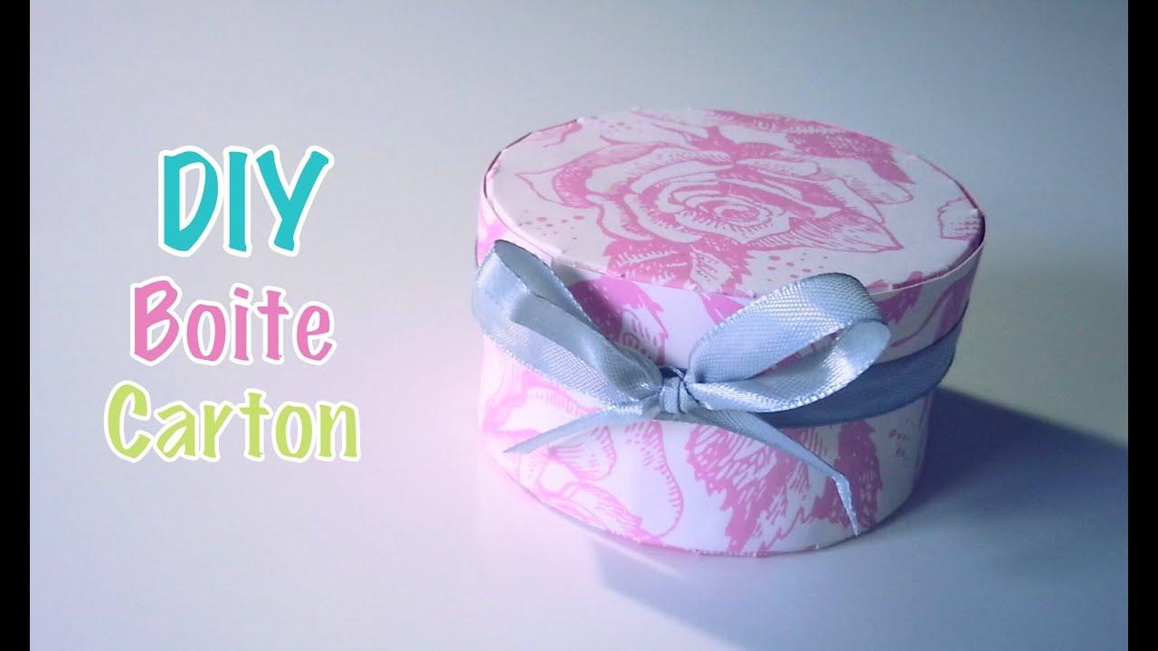 Boite a faire soi meme fashion designs - Comment faire une boite en carton facile ...