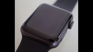 APPLE WATCH SERIES 3 38mm Space Grey   Unboxing
