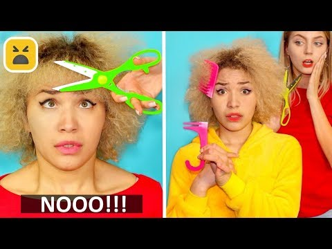 Problems Girls With Curly Hair!