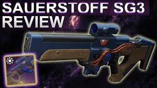 Destiny 2 Forsaken: Sauerstoff SG3 Review / Waffentest (Deutsch/German)