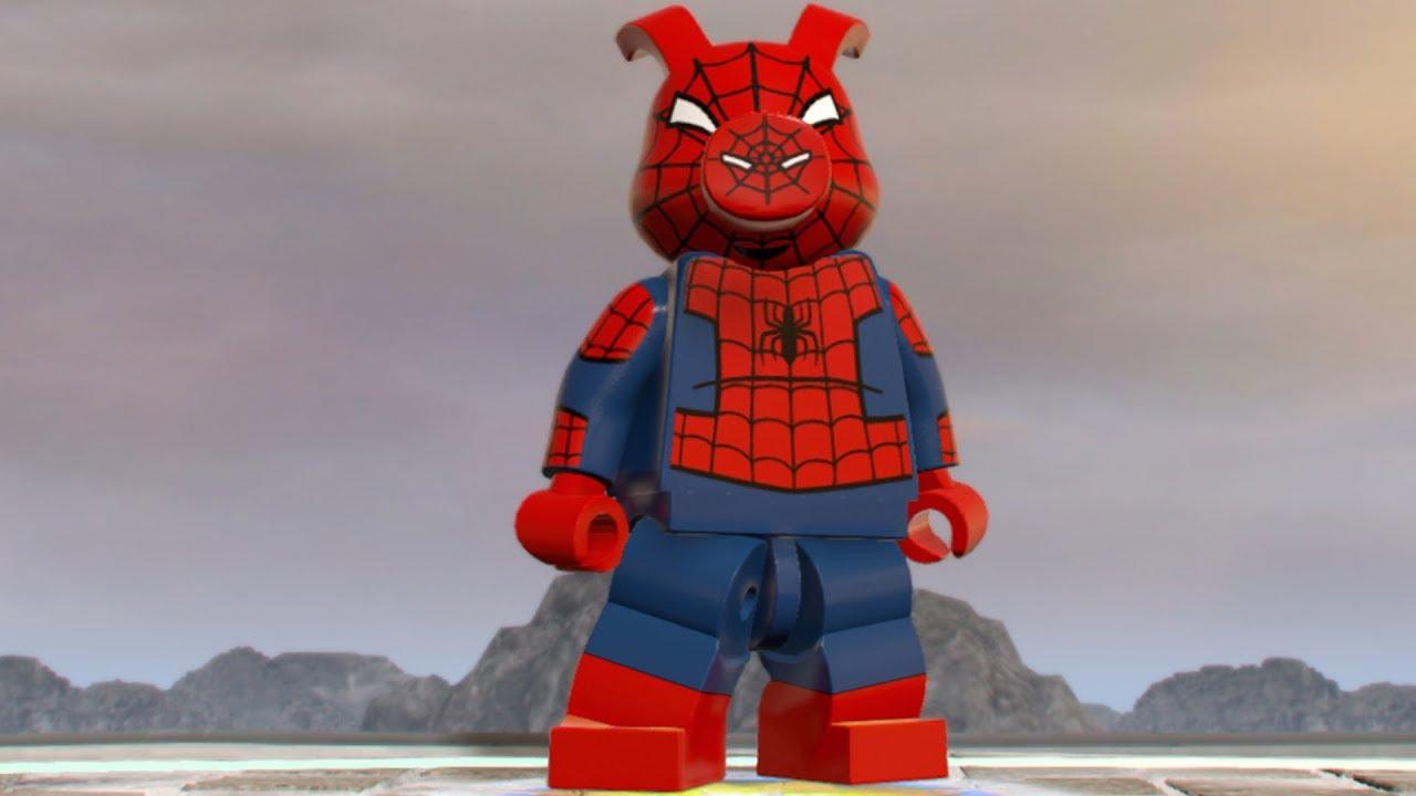 lego marvel super heroes 2 spider ham open world free. Black Bedroom Furniture Sets. Home Design Ideas
