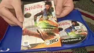 Nostalgamer Unboxes FIFA Street On Sony Playstation 2 UK PAL System Version