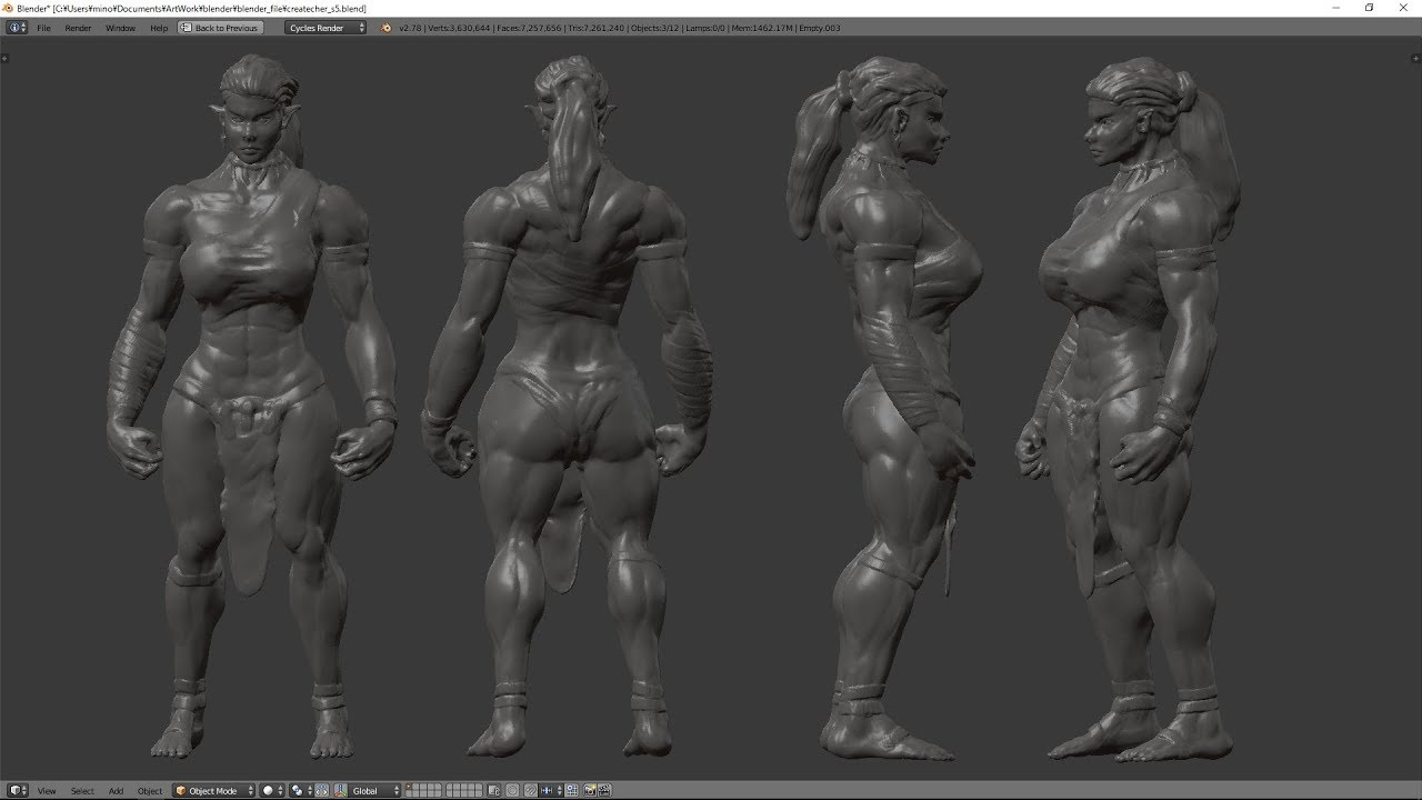 Blender Sculpt Practice Female Orc Time Lapse 32x Youtube Goo.gl/73x2bu second channel vnclip.net/user/kryozdoesmc like me on facebook! blender sculpt practice female orc time lapse 32x