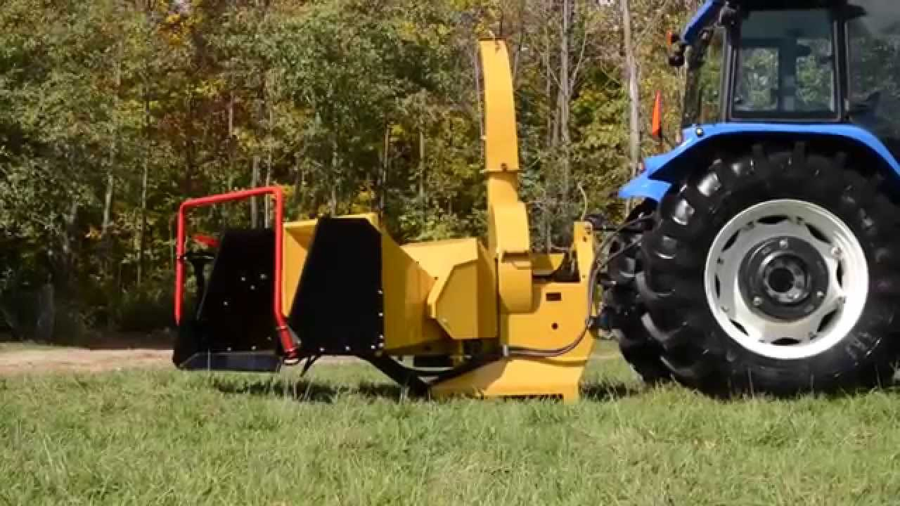 Wallenstein Bx102r 10 Quot Wood Chipper For 3ph Pto Youtube