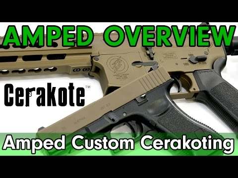 Amped Overview - Cerakote Available at Amped Airsoft!