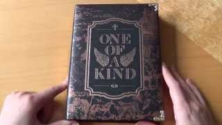 Unboxing G-DRAGON 지드래곤 1st Korean Mini Album ONE OF A KIND (Bronze Edition)