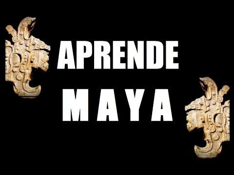 1.- Aprenda Maya (Alfabeto, Consonantes y Vocales)
