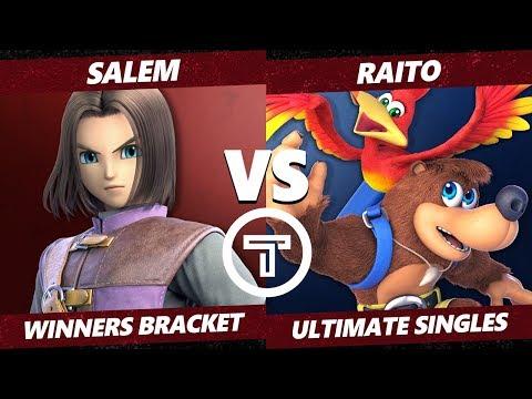 Thunder Smash 3 SSBU - MVG Salem (Hero) VS TG Raito (Banjo) Smash Ultimate Winners Bracket