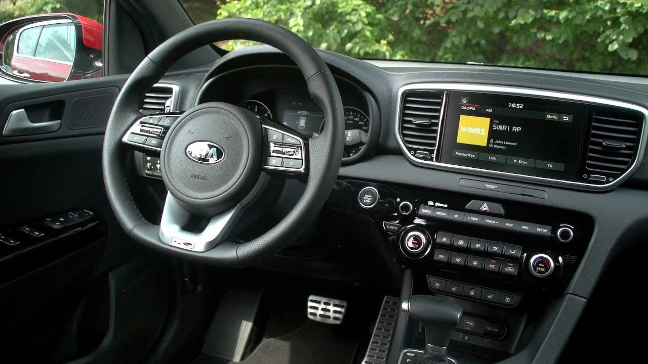 2019 Kia Sportage Mild Hybrid Interior
