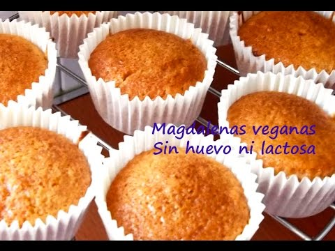 Resultado de imagen para magdalenas sin huevo ni leche