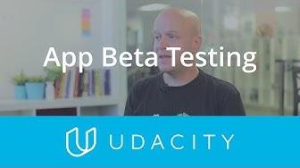 App Beta Testing | Pre-Launch | App Marketing | Udacity