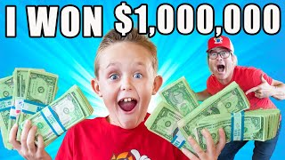 I Won $1,000,000 on a Game Show! The Fun Squad!