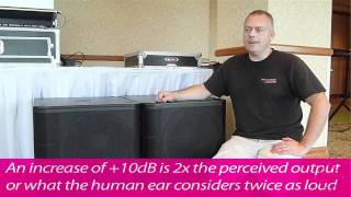 Benefits & Results of Subwoofer Coupling (with QSC KW181's)