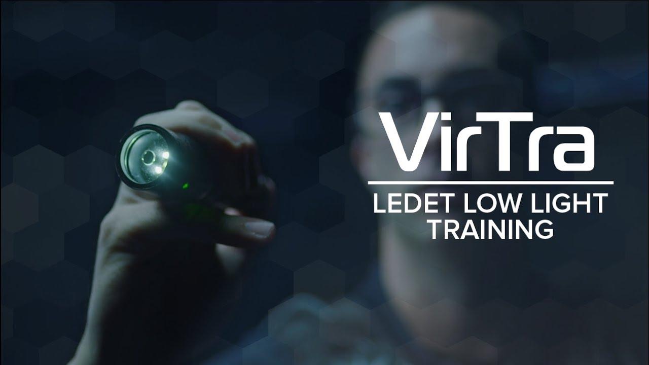Property Alarm Response - VirTra Law Enforcement Dog Encounters Training (LEDET) at night