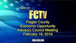Economic Opportunity Advisory Board 2/19/2019