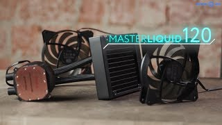 Обзор водяного охлаждения Cooler Master MasterLiquid 120 в 4k