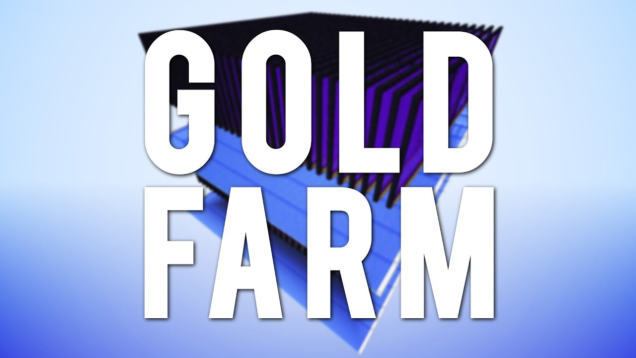 how to make a gold farm in minecraft mumbo jumbo
