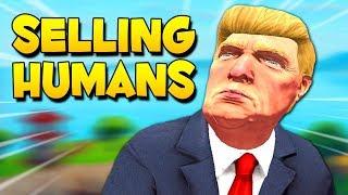 the human salesman