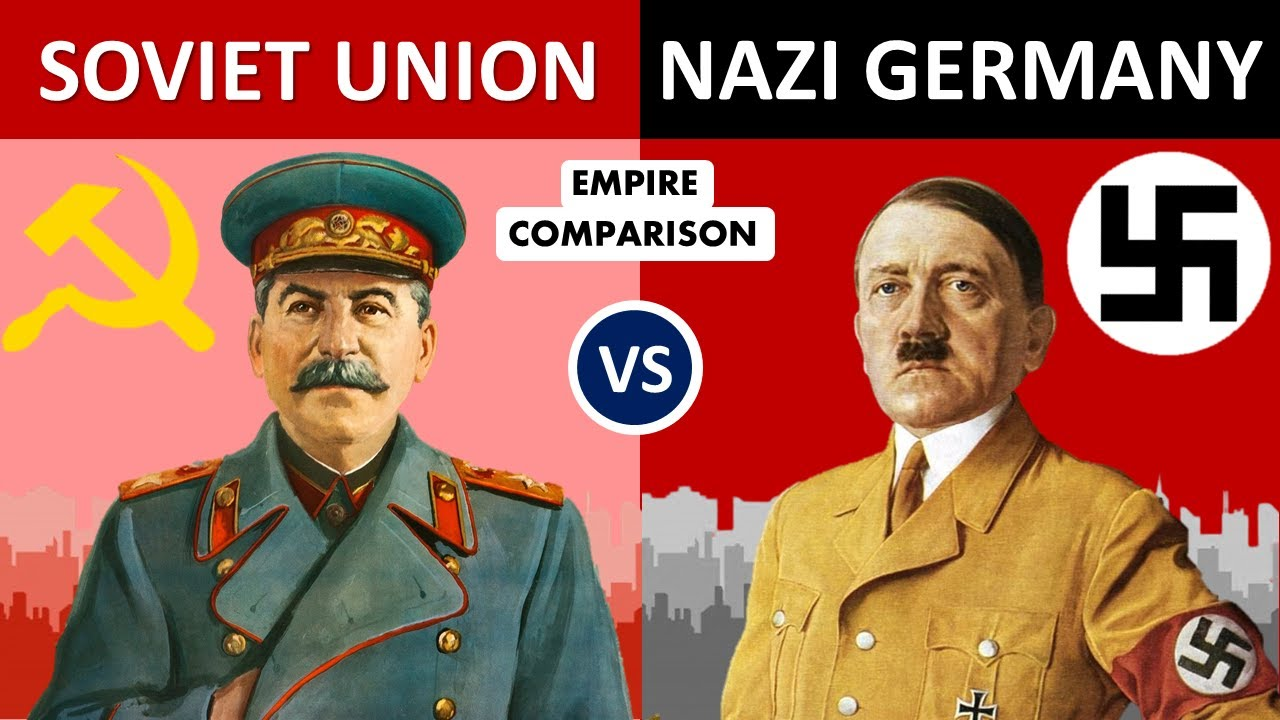 Soviet Union vs Nazi Germany-Empire Comparison