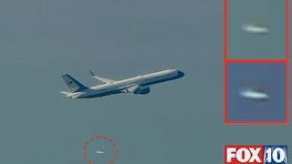 Aliens Give Escort To US President Donald Trumps Plane In Washington DC