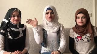 تحدي اللغه التركيه والسورية ... هديل أم سيف