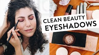 The Best Clean Beauty Eyeshadows | Clean Beauty 5x5
