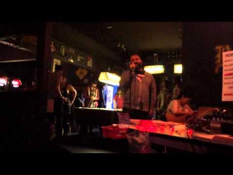 Arms wide open karaoke at Benders in San Francisco