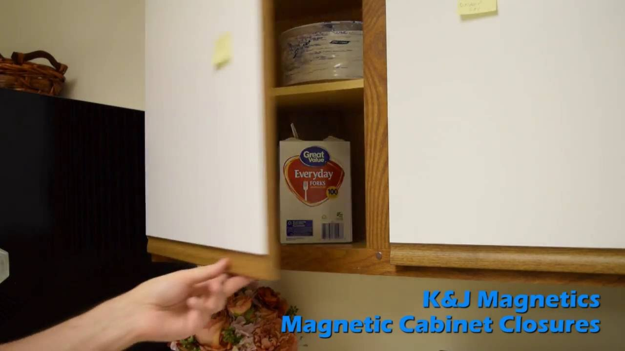 How To : Magnetic Cabinet Closures