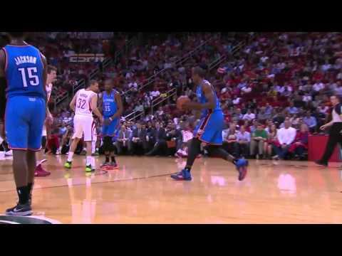 Oklahoma City Thunder vs Houston Rockets   April 4, 2014   NBA 2013-14 Season