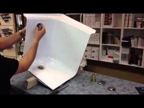 Bathtub Drain Installation Youtube