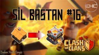 CLASH OF CLANS - SİL BAŞTAN #16 - Bol Bol Savunma