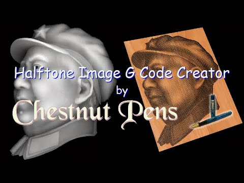G Code - HalfTone Toolpaths Directly From Images