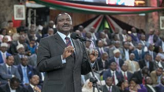 BBI Report: Your excellency, I am sorry for all wrong things I said about you - Kalonzo