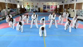 2014仁川亞運中華隊跆拳道隊呼