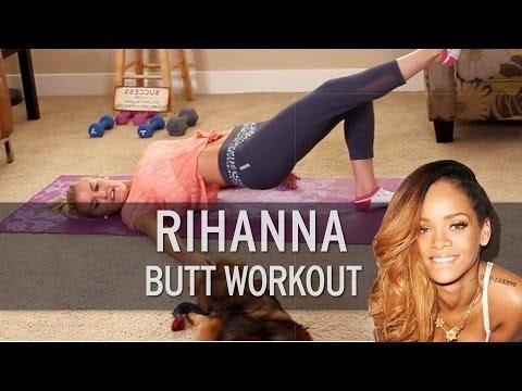 Rihanna Butt Workout