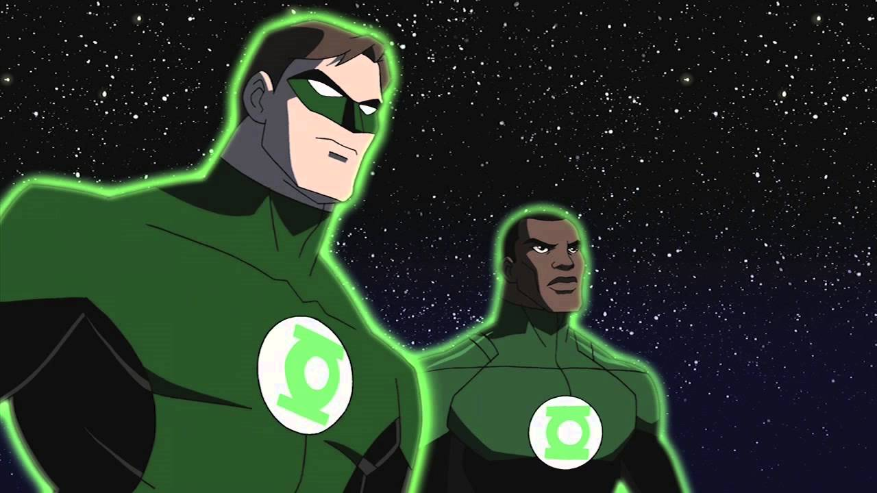 Image result for john stewart and hal jordan