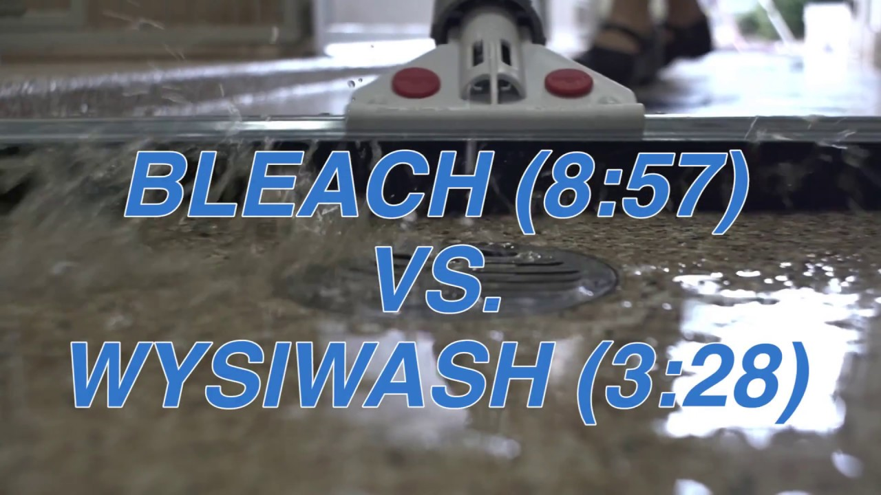 Wysiwash Vs Bleach Speed Test Youtube