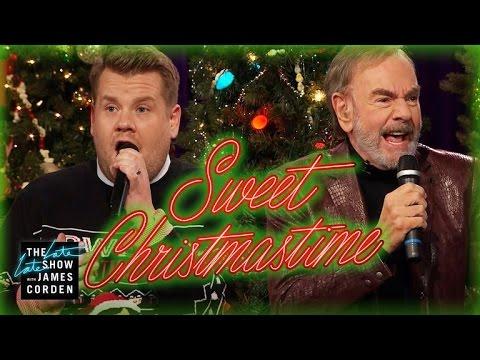 'Sweet Christmastime' w/ Neil Diamond & James Corden