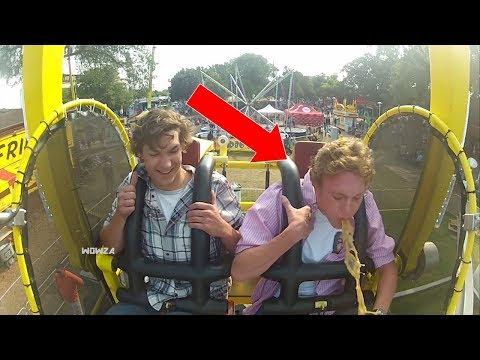 SKYSCRAPER RIDE | Funny / Scared Ride Compilation Part 10